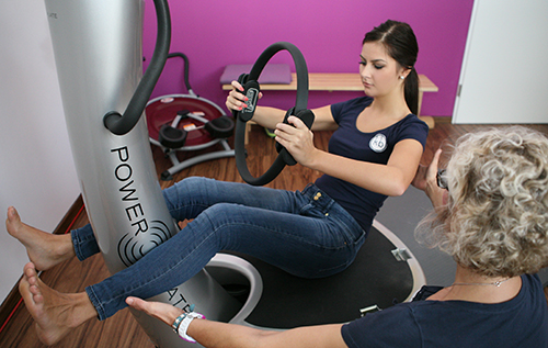 PowerPlate-Training bei kb